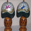 twin gourd lamps